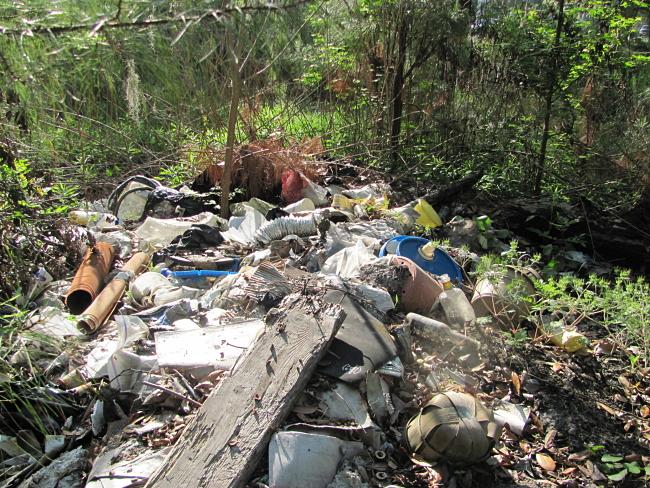 Brunswick GA Debris