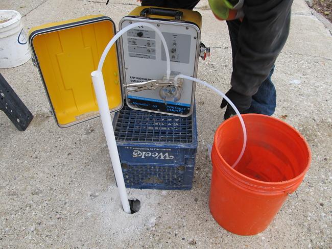 Groundwater Sampling Photo